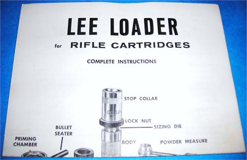 lee perfect powder measure instructions