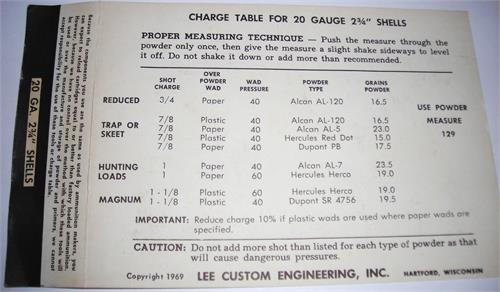 lee classic loader instructions