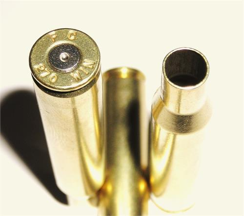 270 Win Federal Once fired Reloading cartridge cases, Pin