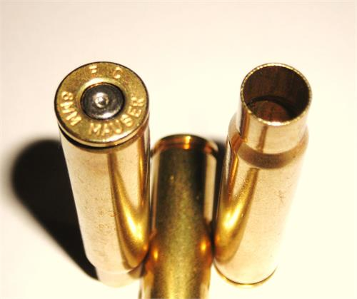 8MM Mauser (8X57) Once fired Reloading Brass Cartridge