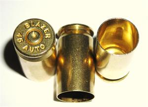 45 Auto Blazer Small Primer Once fired Brass